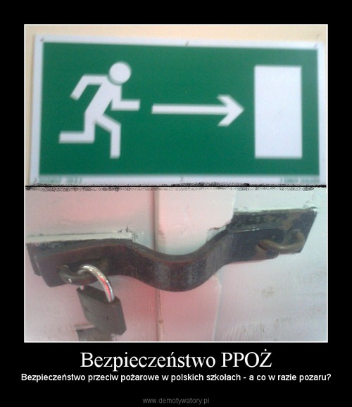 Bezpieczeństwo PPOŻ