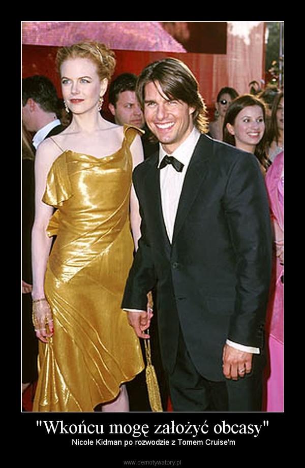 """""""Wkońcu mogę założyć obcasy"""" –  Nicole Kidman po rozwodzie z Tomem Cruise'm"""