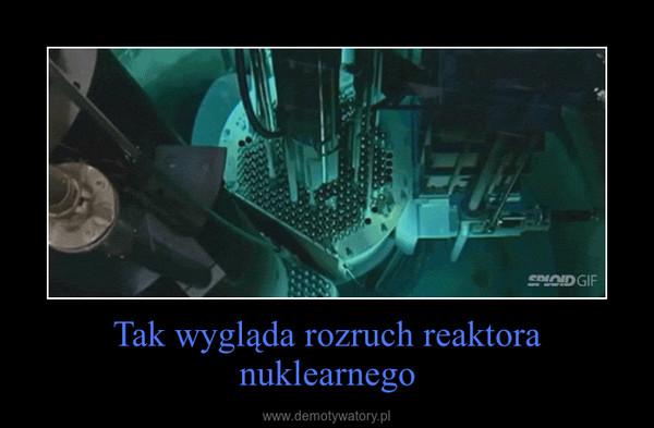 Tak wygląda rozruch reaktora nuklearnego –