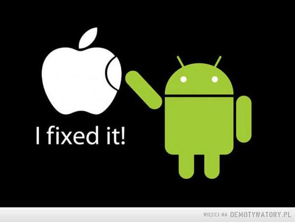 Naprawiony Apple –