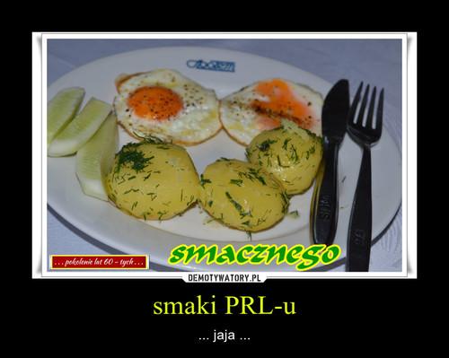 smaki PRL-u