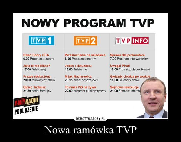 Nowa ramówka TVP –