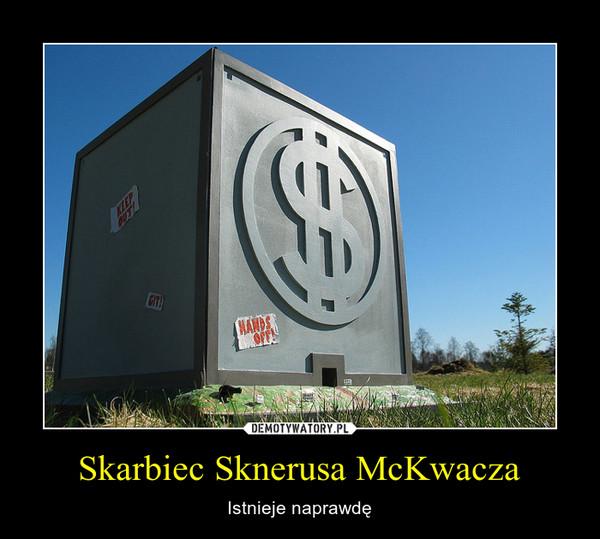 Skarbiec Sknerusa McKwacza – Istnieje naprawdę