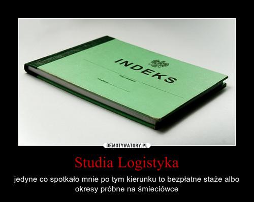Studia Logistyka