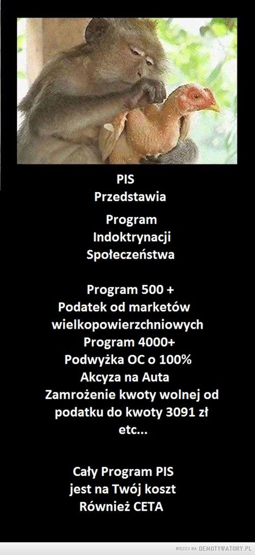 PIS Program Indoktrynacji Społeczenstwa