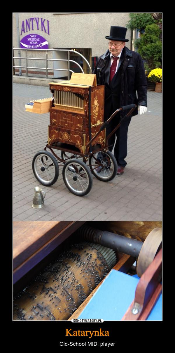 Katarynka – Old-School MIDI player