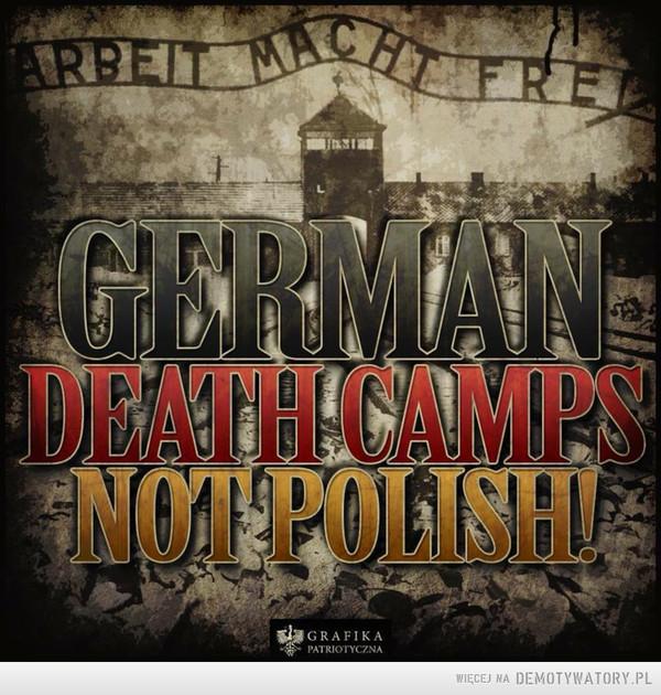 #GermanDeathCamps –
