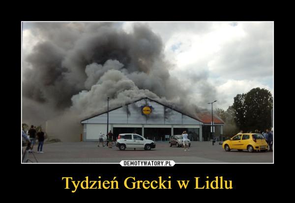 Tydzień Grecki w Lidlu –
