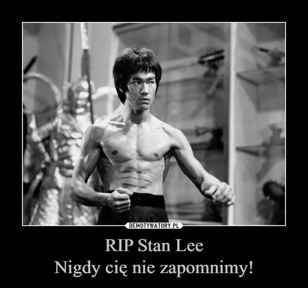 RIP Stan LeeNigdy cię nie zapomnimy! –