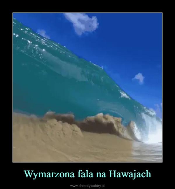 Wymarzona fala na Hawajach –
