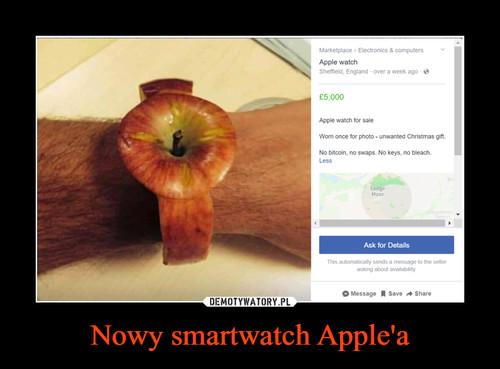Nowy smartwatch Apple'a