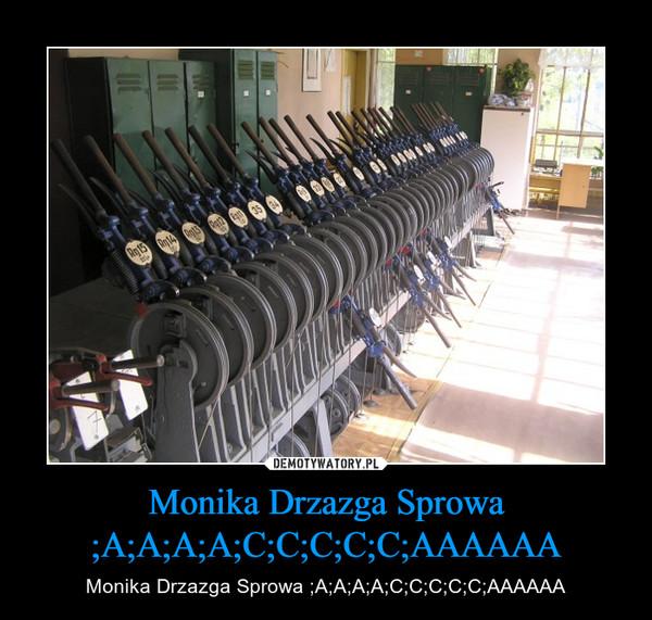 Monika Drzazga Sprowa ;A;A;A;A;C;C;C;C;C;AAAAAA – Monika Drzazga Sprowa ;A;A;A;A;C;C;C;C;C;AAAAAA