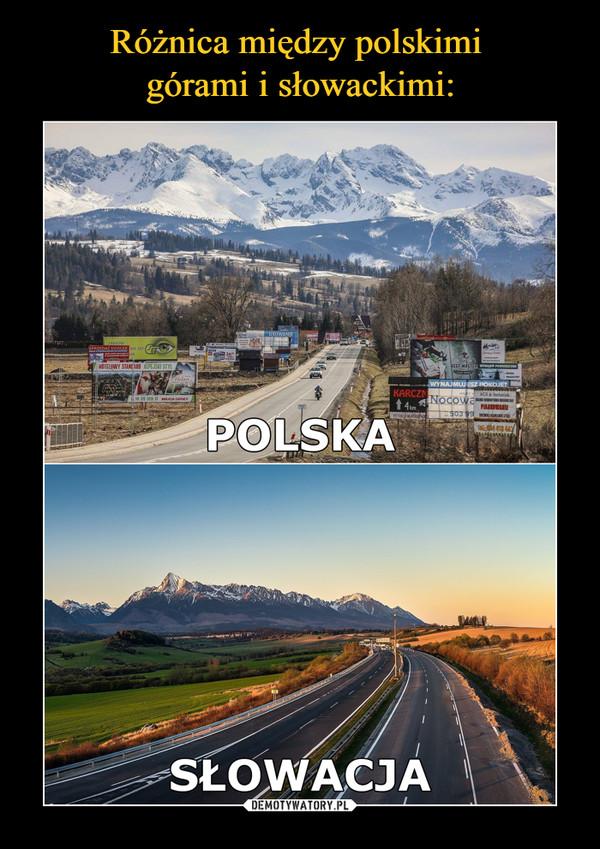 –  Polska Słowacja