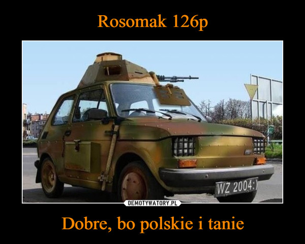Dobre, bo polskie i tanie –