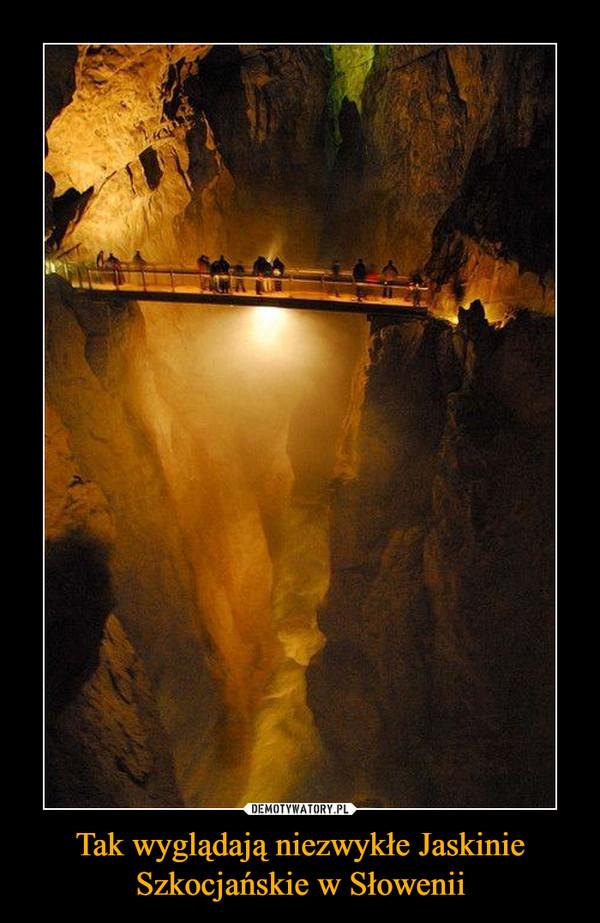 Tak wyglądają niezwykłe Jaskinie Szkocjańskie w Słowenii –