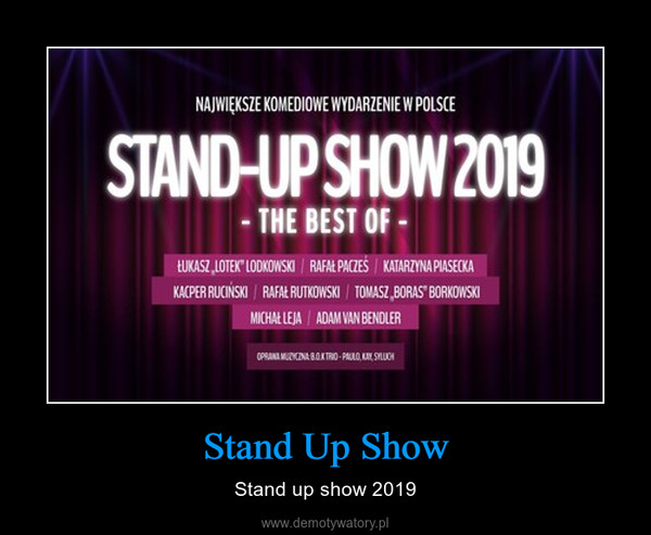 Stand Up Show – Stand up show 2019