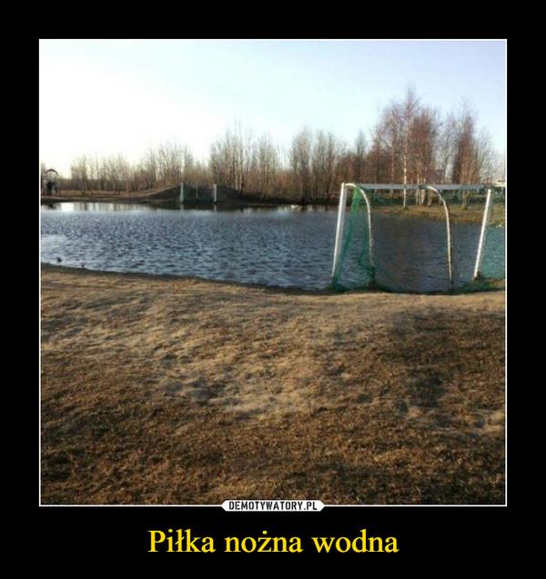 Piłka nożna wodna –
