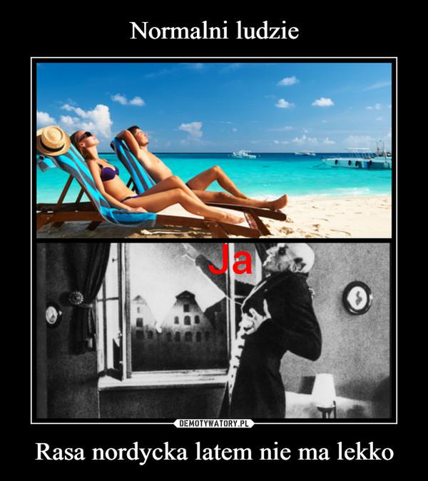 Rasa nordycka latem nie ma lekko –