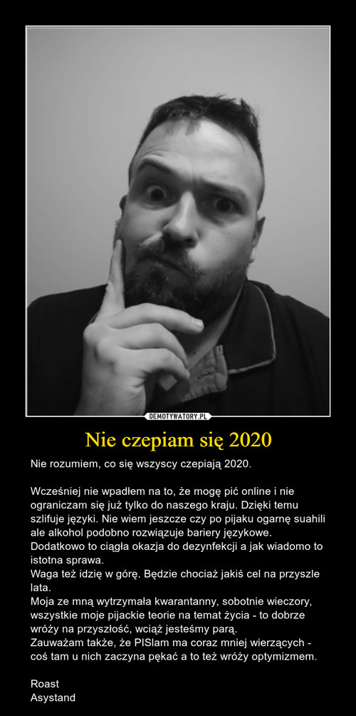 Nie czepiam się 2020