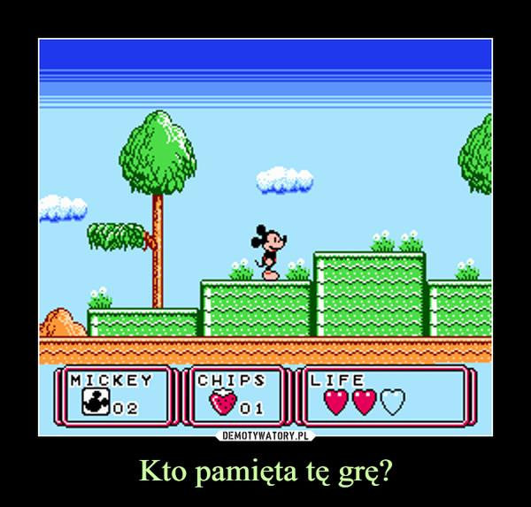 Kto pamięta tę grę? –