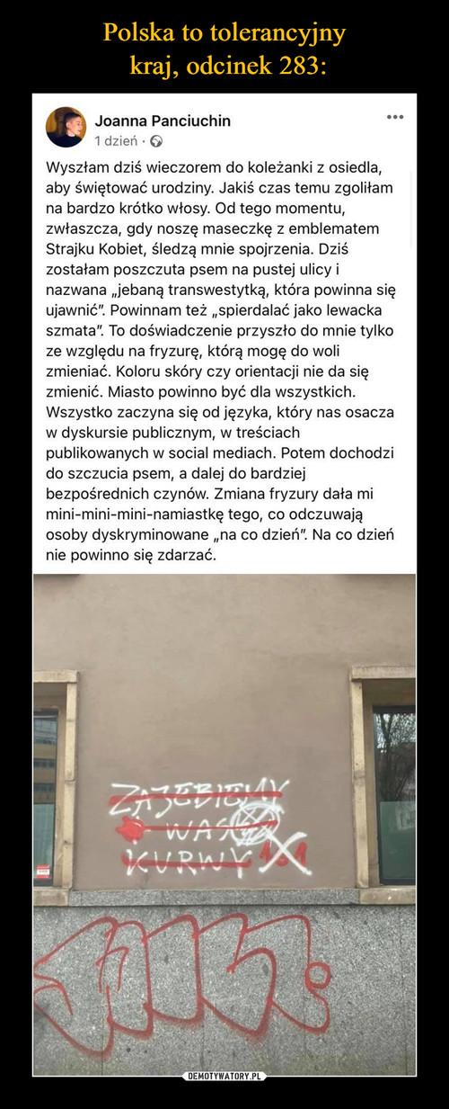 Polska to tolerancyjny  kraj, odcinek 283:
