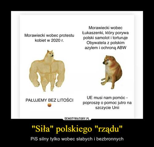 """""""Siła"""" polskiego """"rządu"""""""