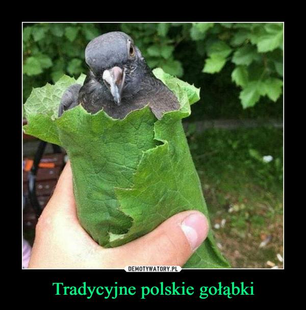 Tradycyjne polskie gołąbki –