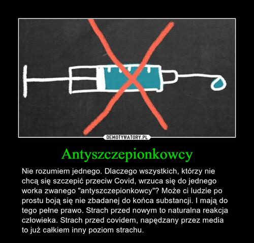 Antyszczepionkowcy