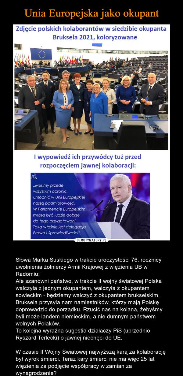 Unia Europejska jako okupant